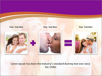Couple in love in the street PowerPoint Template - Slide 22
