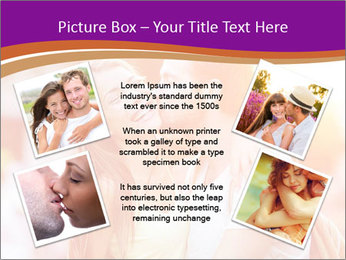 Couple in love in the street PowerPoint Template - Slide 24