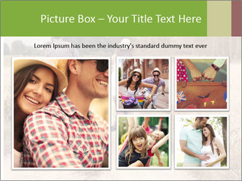 Couple Cycling In Countryside PowerPoint Template - Slide 19