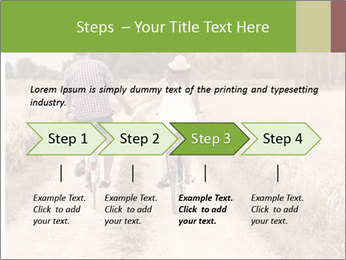 Couple Cycling In Countryside PowerPoint Templates - Slide 4