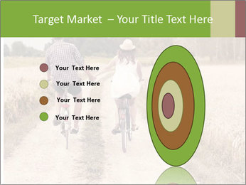 Couple Cycling In Countryside PowerPoint Templates - Slide 84