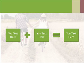 Couple Cycling In Countryside PowerPoint Template - Slide 95