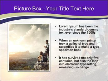 Trekking Point PowerPoint Template - Slide 13