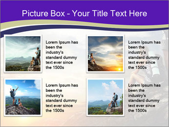 Trekking Point PowerPoint Template - Slide 14