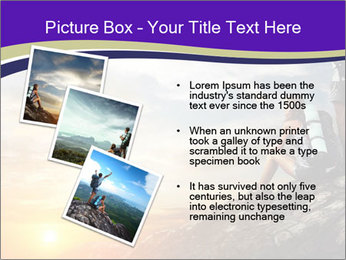 Trekking Point PowerPoint Template - Slide 17