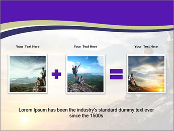 Trekking Point PowerPoint Template - Slide 22