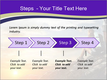Trekking Point PowerPoint Template - Slide 4