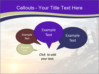 Trekking Point PowerPoint Template - Slide 73