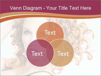 Woman With Red Curly Hair PowerPoint Templates - Slide 33