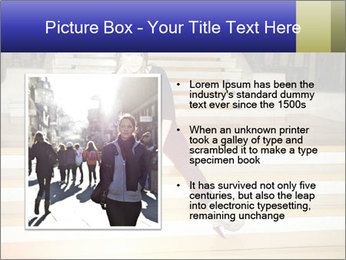 Mid Adult Woman PowerPoint Templates - Slide 13