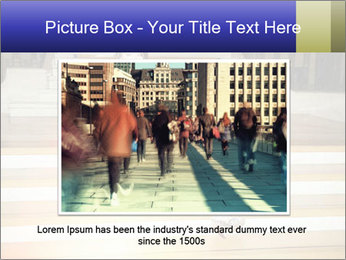 Mid Adult Woman PowerPoint Templates - Slide 16