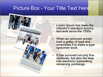Mid Adult Woman PowerPoint Template - Slide 17