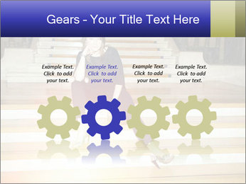 Mid Adult Woman PowerPoint Templates - Slide 48