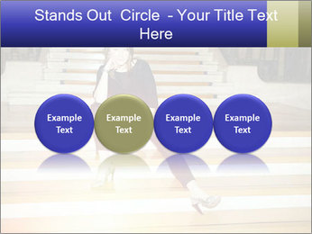 Mid Adult Woman PowerPoint Templates - Slide 76
