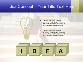 Mid Adult Woman PowerPoint Templates - Slide 80