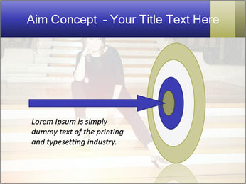 Mid Adult Woman PowerPoint Template - Slide 83