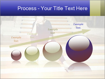 Mid Adult Woman PowerPoint Templates - Slide 87
