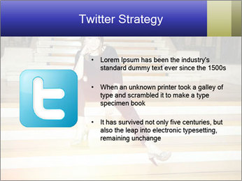 Mid Adult Woman PowerPoint Templates - Slide 9