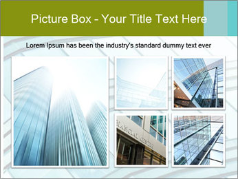 Glass Window Exterior PowerPoint Template - Slide 19