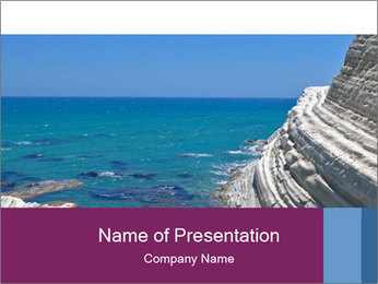 Seascape Travelling PowerPoint Template