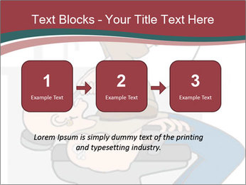 Dental Cartoon PowerPoint Template - Slide 71