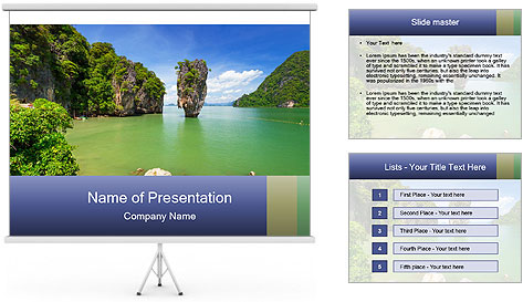 Exotic Thailand PowerPoint Template