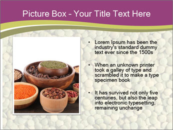 Green Legume PowerPoint Template - Slide 13