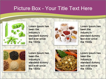 Green Legume PowerPoint Template - Slide 14