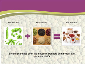 Green Legume PowerPoint Template - Slide 22