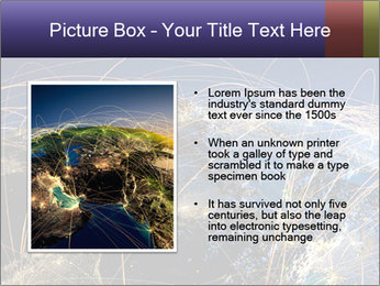 Continent Trajectory PowerPoint Template - Slide 13