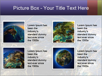 Continent Trajectory PowerPoint Template - Slide 14