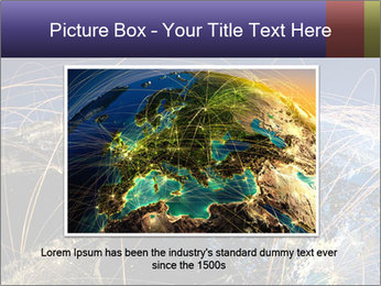 Continent Trajectory PowerPoint Template - Slide 16