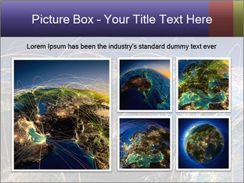 Continent Trajectory PowerPoint Template - Slide 19