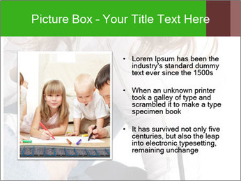 Young Woman Studying PowerPoint Templates - Slide 13