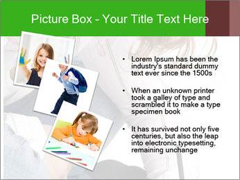 Young Woman Studying PowerPoint Templates - Slide 17