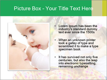 Mama And Baby At Backyard PowerPoint Template - Slide 13