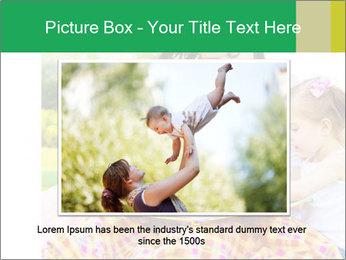 Mama And Baby At Backyard PowerPoint Template - Slide 15