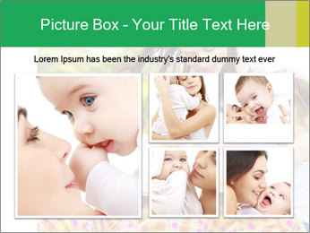 Mama And Baby At Backyard PowerPoint Template - Slide 19