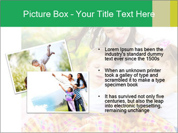 Mama And Baby At Backyard PowerPoint Template - Slide 20