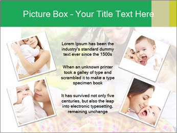 Mama And Baby At Backyard PowerPoint Template - Slide 24