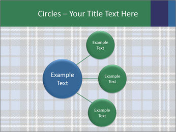 Blue Checkered Blanket PowerPoint Template - Slide 79