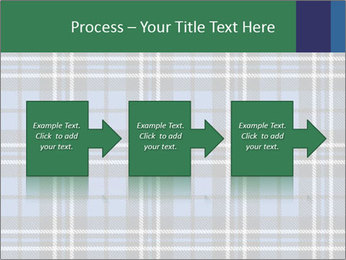 Blue Checkered Blanket PowerPoint Template - Slide 88