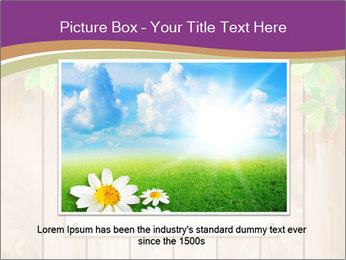 Cute Card On Wooden Board PowerPoint Templates - Slide 16