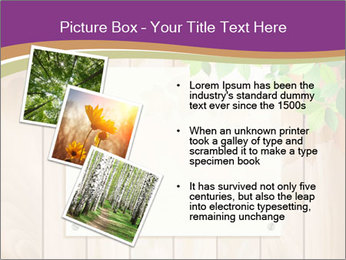 Cute Card On Wooden Board PowerPoint Templates - Slide 17