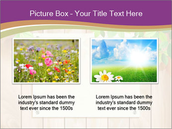Cute Card On Wooden Board PowerPoint Templates - Slide 18