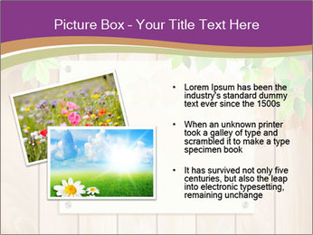 Cute Card On Wooden Board PowerPoint Templates - Slide 20