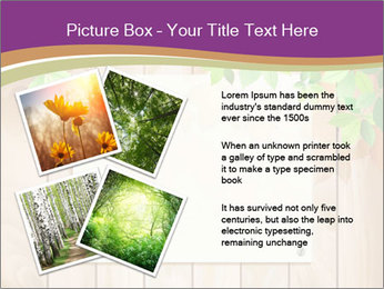 Cute Card On Wooden Board PowerPoint Templates - Slide 23
