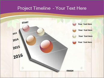 Cute Card On Wooden Board PowerPoint Templates - Slide 26