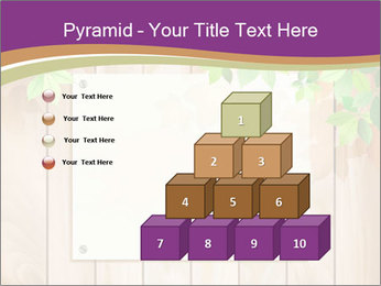 Cute Card On Wooden Board PowerPoint Templates - Slide 31