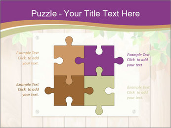 Cute Card On Wooden Board PowerPoint Templates - Slide 43